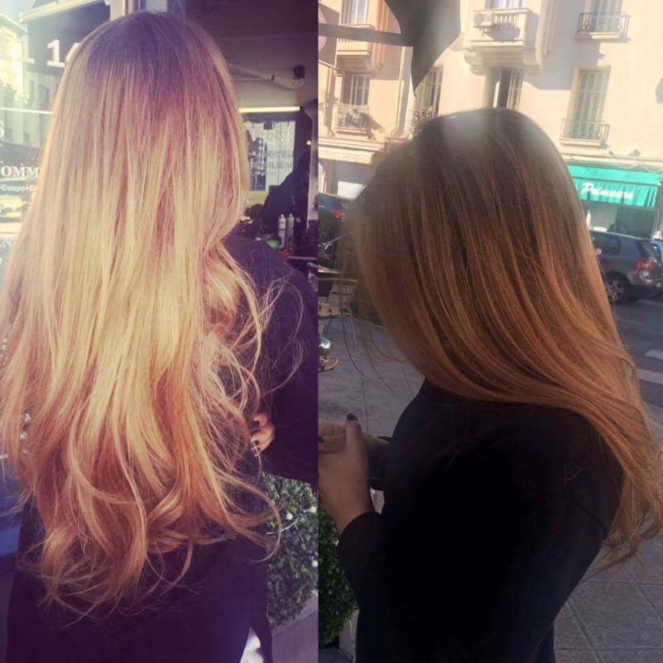 coiffure-ombre hair nice