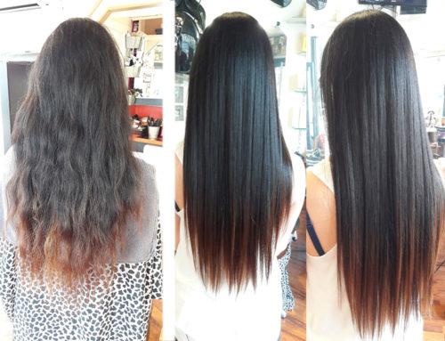 Lissage sur cheveux long nice